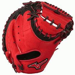 0PSE3 Catchers Mitt 34 inch MVP Prime Navy-Red Right Hand Throw  Pa