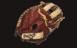 Leather Soft pebbled leather for game ready performance an