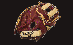 Throwback Leather Soft pebbled leather for game ready performance and long lasting d