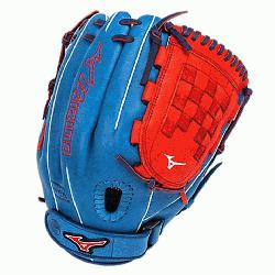 MVP Prime Fast Pitch GMVP1200PSEF3 12 inch Softball Glove Royal-Red Right