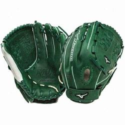 Mizuno MVP Prime SE 12.50 Inch Fastpitch Softball Fielders Mitt SilverRed Right Handed Thro