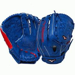 no MVP Prime SE 12.50 Inch Fastpitch Softball Fielders Mitt SilverRed Ri