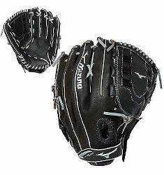specifically for softball. Full Grain Leather Shell Great durability. Mesh Inserts Reduces the weig