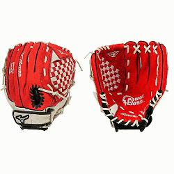 P1150Y1RD Red 11.5 Youth Baseball Glove Right Hand Throw  Mizuno Prospect Se