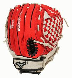 zuno Prospect GPP1150Y1RD Red 11.5 Youth Baseball Glove Right Han