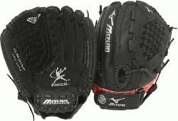 GPP1154 is a 11.50-Inch youth fastpitch glove that features multiple techno