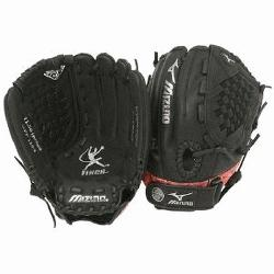 4 is a 11.50-Inch youth fastpitch glove that features multiple technologies to make