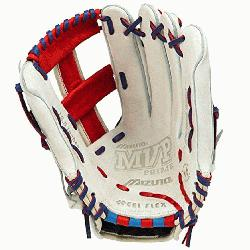GMVP1250PSES3 Softball Glove 12.5 inch Silver-Red-Royal Right Hand Throw  Pate