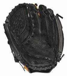 performance full-grain leather shell in softball specific patterns. W Tartan Web