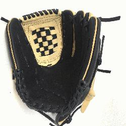 Adult Glove made of American Bison and Supersoft Steerhide leather