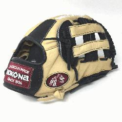 g Adult Glove made of American Bison and Supersoft Steerhide leather combine
