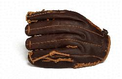 Baseball Glove for young adult players. 12 inch pattern closed
