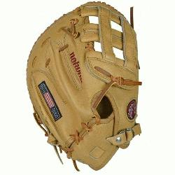 end Series First Base Mitt AL1250FBH Right Handed Throw  A full Nokona First Base Mitt Sand