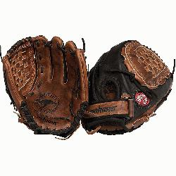 Nokona Fastpitch Black Buckaroo Softball Glove. Closed Web and 12.5 inches.</p>