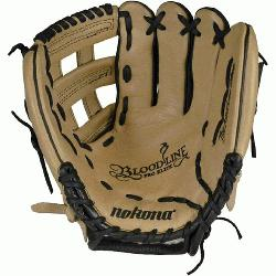 f-the-line bloodline baseball glove is now available in a blacksandstone leather combination.