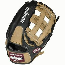 Nokonas top-of-the-line bloodline baseball glove is now available in a blacksandstone l