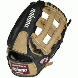 nas top-of-the-line bloodline baseball glove is now available in a blacks