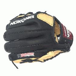 ung Adult Glove made of American Bison and Supersoft Steerhide leather combi