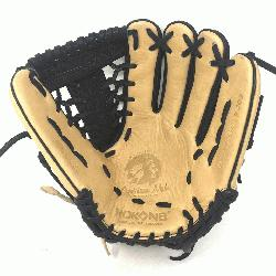 Adult Glove made of American Bison and Supersoft Steerhide leather combined in
