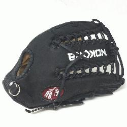lt Glove made of American Bison and Supersoft Steerhide leather