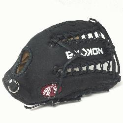 Young Adult Glove made of American Bison and Supersoft Steerhide leather c