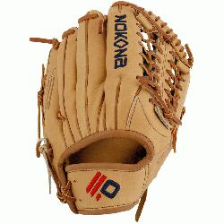 with the finest top grain steerhide. Baseball Outfield pattern or slow
