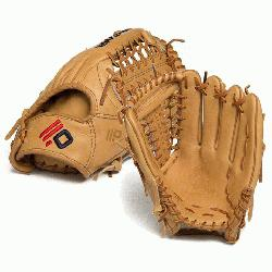 Made in America with the finest top grain steerhide. Baseball Outfield pattern or slow p