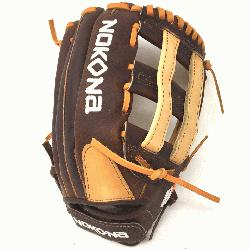 emium Buffalo and Steerhide Leather Nokona s Alpha Series Lightweight and Durable Near game-ready