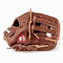 as history of handcrafting ball gloves in America for over 80 years the proprietary Walnut Cr