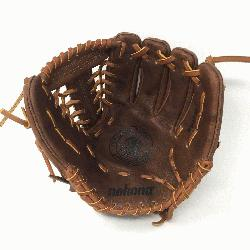 -1150M Baseball Glove 11.5 Modified Trap Right Handed Throw Walnut HHH