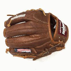 WB-1150M Baseball Glove 11.5 Modified Trap Right Handed Throw Walnu