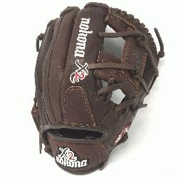 Pitcher/Infield Pattern I-Web Stampede + Kangaroo Leather C