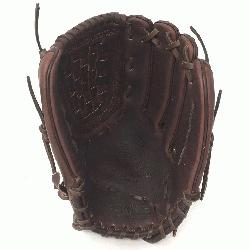 Fast Pitch Softball Glove 12.5 inches Chocolate lace. Nokona El