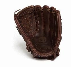 Nokona X2 Elite Fast Pitch Softball Glove. Stampeade leather close web and velcro closure back. No