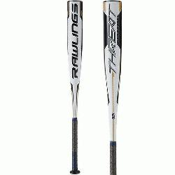 ATED FOR HITTERS AGES 8 TO 12 this 1-piece composite bat is crafted of ultra light