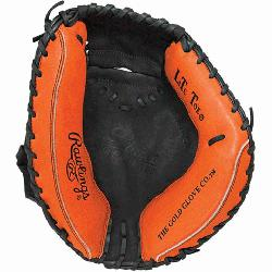 his Player Preferred Catchers Mitt from Rawlings Rawlings features the One Piece Closed Web which