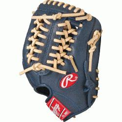 lings GXLE175NC Navy Camel Gamer XLE Series 11.75 inch Baseball Glove R
