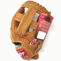 ROSPT Heart of the Hide Baseball Glove is 11.75 inch. Made with Horween C55 tann