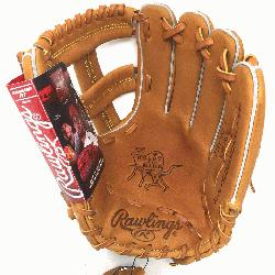 PROSPT Heart of the Hide Baseball Glove is 11.75 inch. Made with Horween C55 tanned