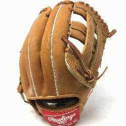 sp;   The Rawlings PRO1000HC Heart of the Hide Baseball Glove is 12 inches. Made with