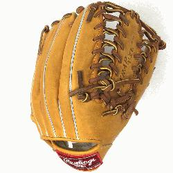 The Rawlings PRO12TC Heart of the Hide Baseball Glove is 12 inc