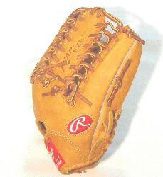 e Rawlings PRO12TC Heart of the Hide Baseball Glove is 12 inches. Made with Jap