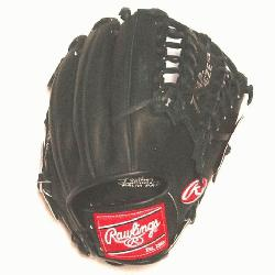 wlings Exclusive Heart of the Hide Baseball Glove. 12 inch with Trapeze Web. Black