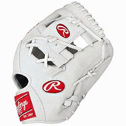 of the Hide White Baseball Glove 11.5 inch PRO202WW Right-Handed-