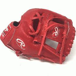 Heart of the Hide. Pro I Web. Indent Red Heart of Hide Leather. Standard fit