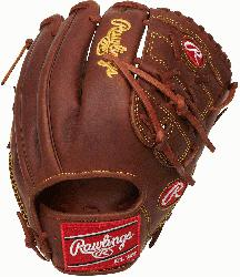 from Rawlings world-renowned Heart of the Hide steer leather