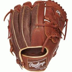 .75 pattern Heart of the Hide Leather Shell Same game-day pattern as some of baseball's top p