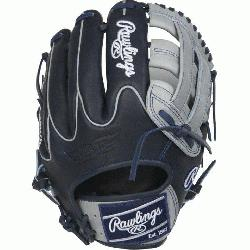d Edition Color Sync Heart of the Hide baseball glove features a PRO H Web