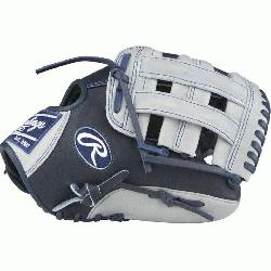 ition Color Sync Heart of the Hide baseball glove features a PRO H Web pattern whic