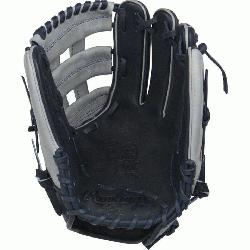 on Color Sync Heart of the Hide baseball glove features a PRO